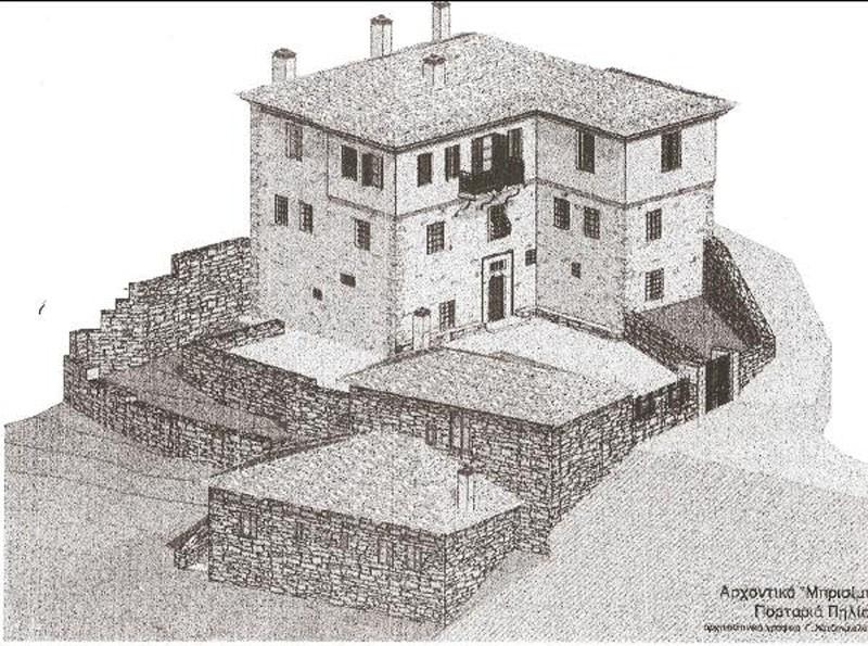 Οικόπεδο 1600μ² στην Πορταριά