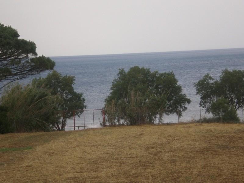 Οικόπεδο Πρώτο Θάλασσα Με Οικοδομή Στην Τριφυλία(Μειωμένη Τιμή )