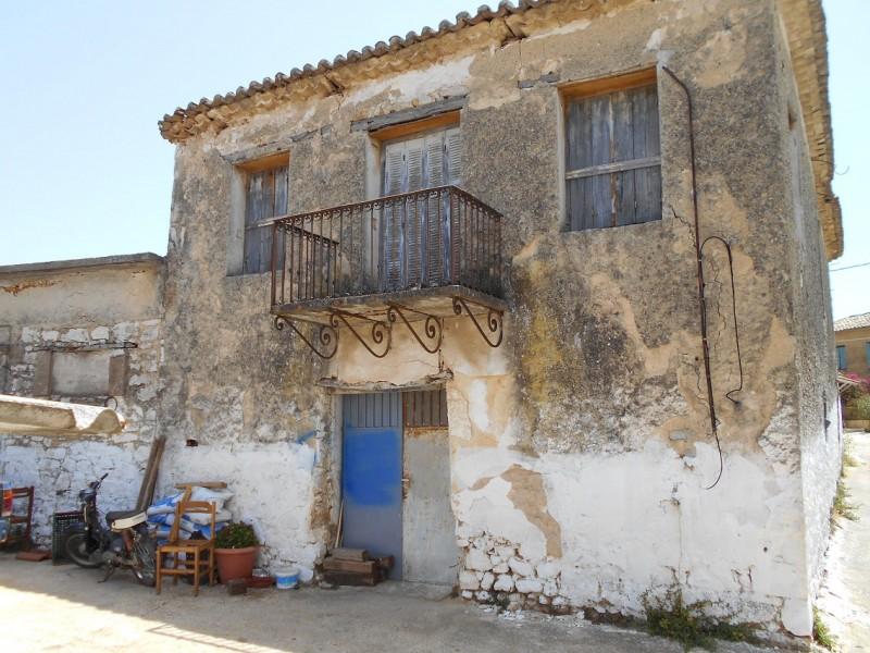 Παλαιά Μονοκατοικία Στην Λεύκη Τριφυλίας